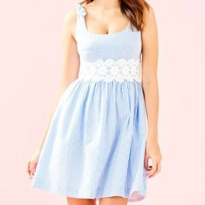 NWT Lilly Pulitzer Tessa Dress Coastal Blue